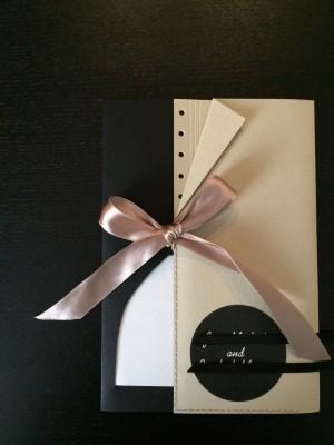 [WEDDING] BLACK AND WHITE INVITATIONS