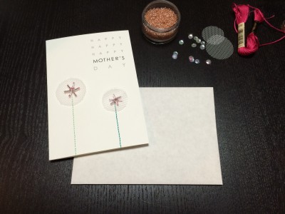 [CREEMA] EMBROIDERED MOTHER'S DAY CARDS