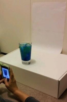 [WEDDING] BLUE AND YELLOW DRINK MENU