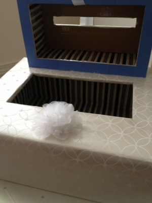 [WEDDING] TIERED GIFT CARD BOX