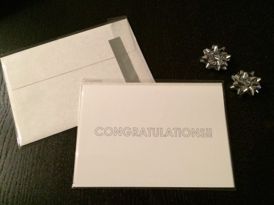 [ETSY] CONGRATULATIONS CARDS