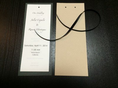 [d.i.y.] tulle veiled wedding programs-6