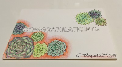 [ETSY] CONGRATULATIONS SAMPLE